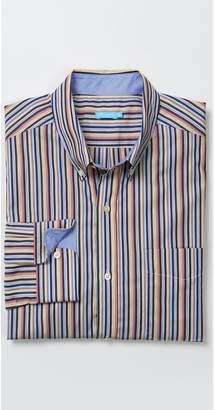 J.Mclaughlin Carnegie Classic Fit Shirt in Stripe