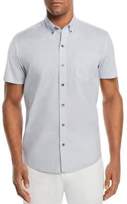WRK Reworked Square Dot Regular Fit Button-Down Shirt