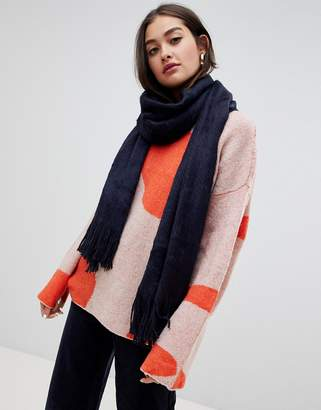 Boardmans chunky knitted scarf