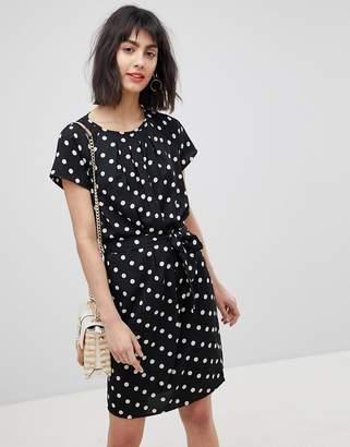 Vero Moda Spotty Waist Tie Dress