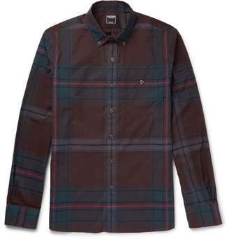 Todd Snyder Slim-Fit Button-Down Collar Checked Cotton Shirt