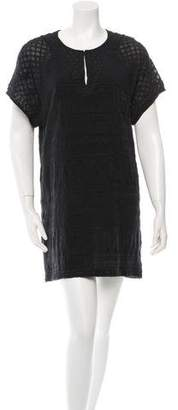 IRO Short Sleeve Embroidered Dress w/ Tags