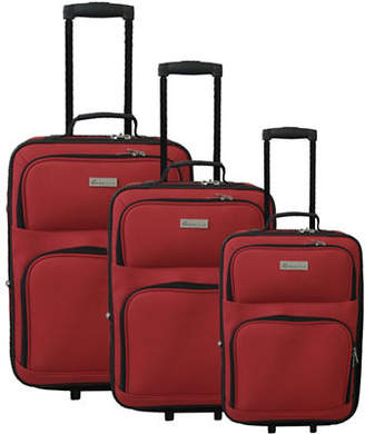HBC Three-Piece Mcbrine Suitcase Set