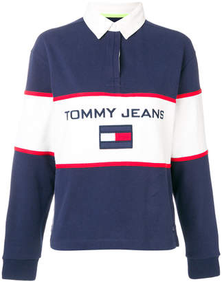 Tommy Hilfiger 90s rugby polo shirt