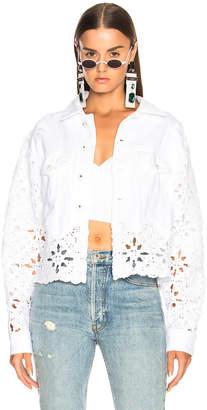 Jonathan Simkhai Macrame Cropped Jacket