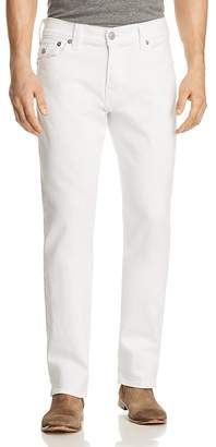 True Religion Ricky Flap Relaxed Fit Jeans in Optic Stone