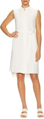 Lafayette 148 New York Women's Windsor Silk Shirtdress