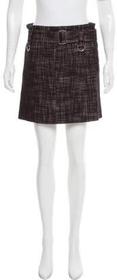 Marc Jacobs Wool-Blend Mini Skirt