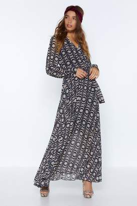 Nasty Gal Throw Some Shapes Maxi Dress