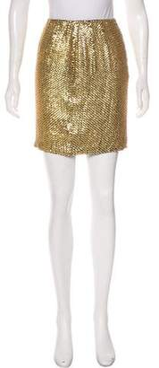 Ellen Tracy Linda Allard Silk Mini Skirt