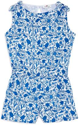 Vineyard Vines Girls' Otomi Print Romper
