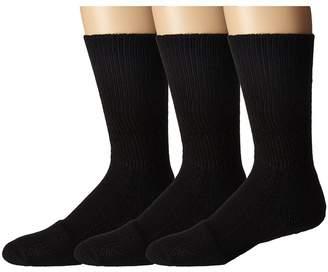 Thorlos Steel Toe Mid-Calf Sock 3-Pair Pack Crew Cut Socks Shoes