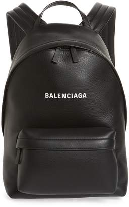 Balenciaga Everyday Calfskin Leather Backpack