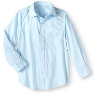 Genuine Uniform Boys' Long Sleeve Woven Shirt