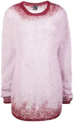 Ann Demeulemeester ombre knit jumper