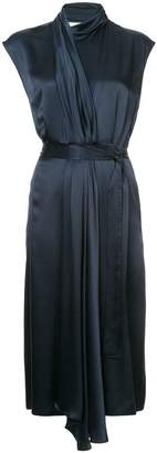Tome pleat detail dress