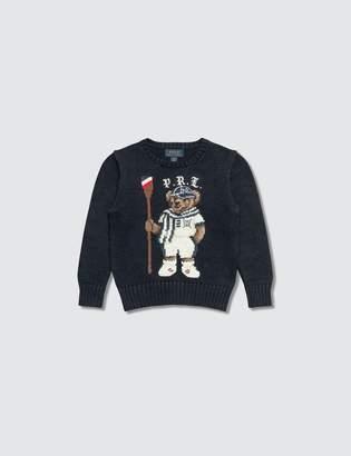 Polo Ralph Lauren Rowing Bear Cotton Sweater