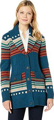 Pendleton Women's Lodge Stripe Cardigan Sweater