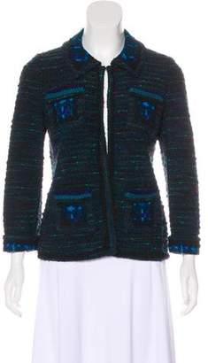Anna Sui Knit Wool-Blend Jacket