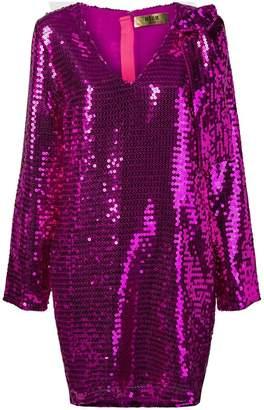 MSGM sequinned dress