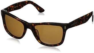 Hang Ten Gold Classic Wayfarer HTG1005 C1 Polarized Round Sunglasses