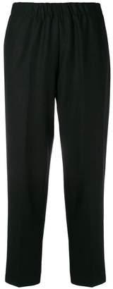 Kiltie slim fit cropped trousers