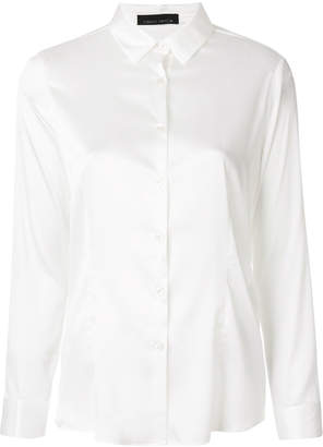Frankie Morello satin shirt