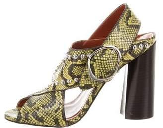 3.1 Phillip Lim Embellished Leather Sandals