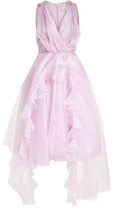 Preen by Thornton Bregazzi Silk Chiffon Dress