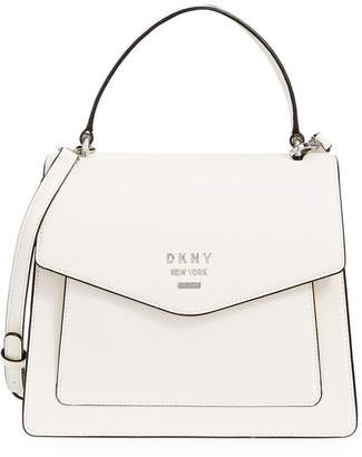 DKNY Whitney Pebbled Leather Satchel