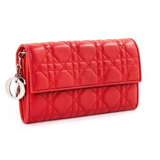 0e50333ad029 Christian Dior Red Leather Handbags - ShopStyle