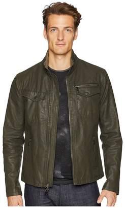 John Varvatos Collection Zip Front Closure Jacket O1703U2 Men's Coat
