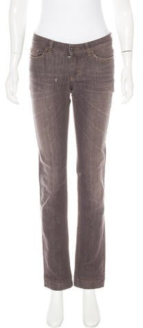 Dolce & GabbanaDolce & Gabbana Mid-Rise Straight-Leg Jeans