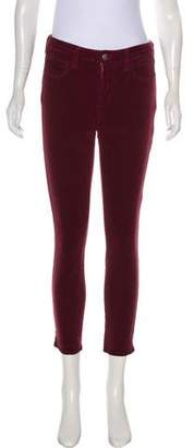 L'Agence Corduroy Mid-Rise Skinny Pant