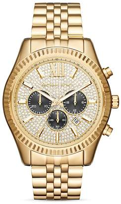 Michael Kors Lexington Watch, 44mm $350 thestylecure.com