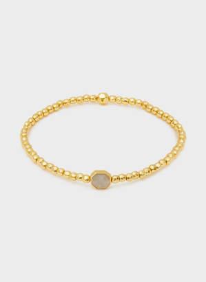 Gorjana Power Gemstone Labradorite Charm Bracelet