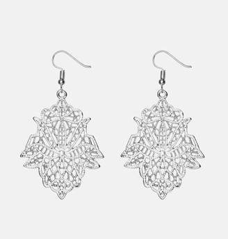Avenue Filigree Flower Earrings