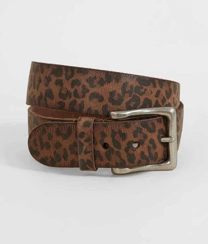 Indie Spirit Leopard Print Belt