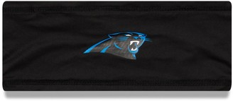 New Era Men's Black Carolina Panthers NFL 100 Sideline Team COOLERA Headband