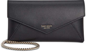 Kate Spade Sylvia Leather Chain Clutch