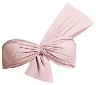 Marysia Swim Venice One Shoulder Bikini Top - Womens - Light Pink
