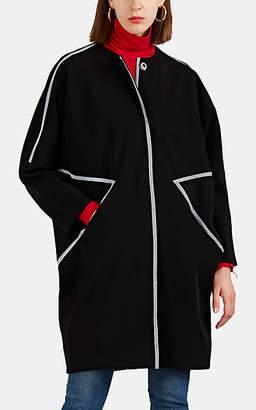 Zero Maria Cornejo Women's Bea Bonded Scuba Coat - Black