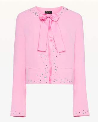 Juicy Couture Crystal Embellished Jacket