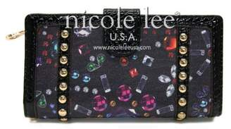Nicole Lee Samantha Jewel Print Wallet Collection