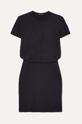 James Perse Slub Stretch-cotton Jersey Mini Dress