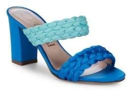 Aperlaï Braided Open-Toe Sandals