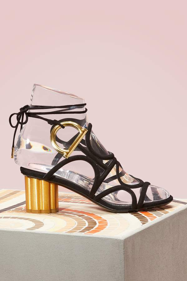 Salvatore Ferragamo Vinci suede sandals