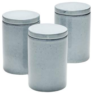 Salt&Pepper Set of 3 800ml Relic Stoneware Canisters