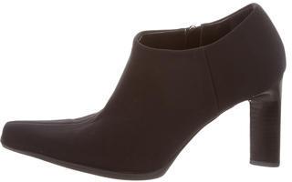 pradaPrada Tessuto Pointed-Toe Ankle Boots