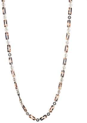 """Ralph Lauren Tortoise Link Necklace, 36"""""""